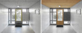 Links: bestaand - Rechts: ontwerp