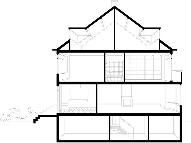 Opfrissing woonhuis