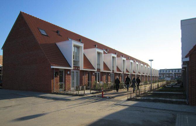 Nieuwbouw van 67 woningen